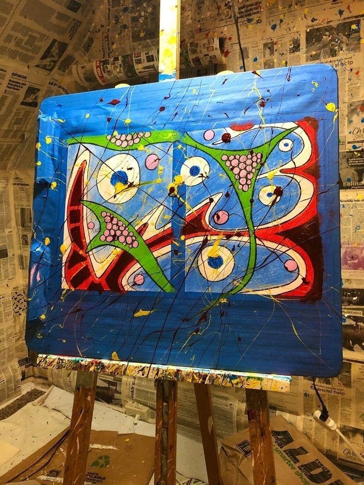 abstract artwork, mixed media 1 - coloradocatalyst | ello