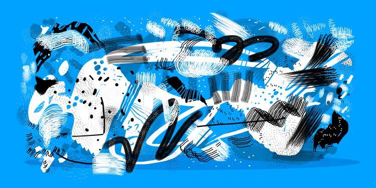 KIND BLUE (Flamenco sketches) P - pegatinacriolla | ello