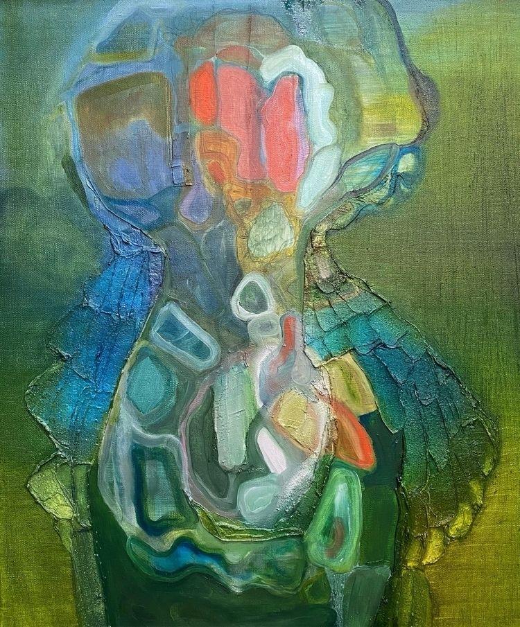 Studio 10/25/2020 - painting, abstractart - annabergin | ello
