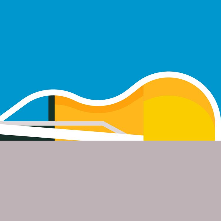 architecture, oscarniemeyer, niemeyer - bentheillustrator | ello