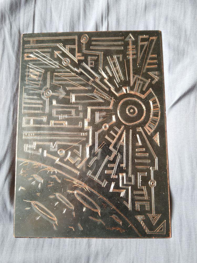 Star Plate Intaglio Pre-etched  - asemicwriter | ello