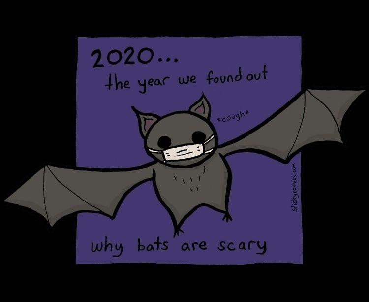 learned bats spread disease yea - xiann | ello