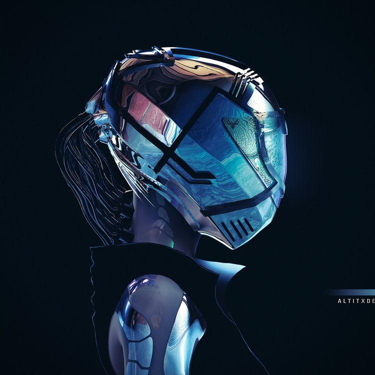 9TH WAVE - 3D, scifi, futuristic - altitxde | ello