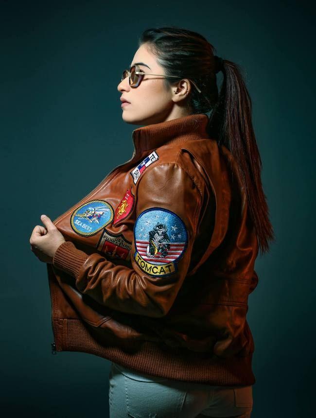 WOMENS AIRCRAFT PATCHES BROWN L - fanzillajackets | ello
