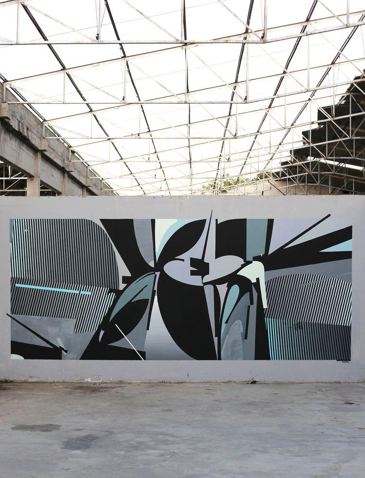 Pyrgos, Greece - abandoned, art - seikon87 | ello