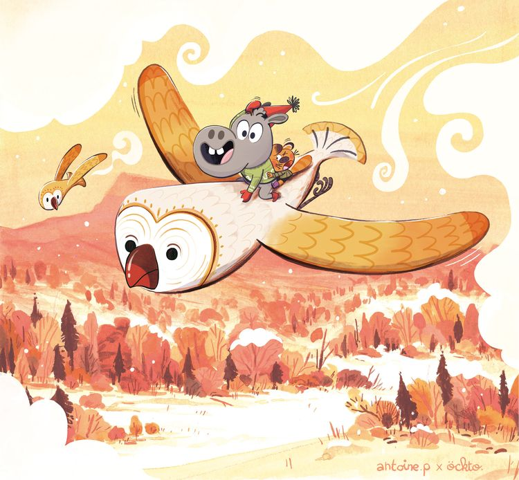 Popo - Howl Background - ockto | ello