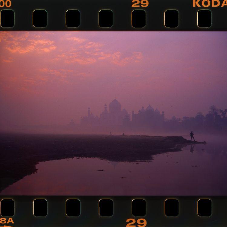 Dreaming pink Taj Mahal dusk, A - ilanderech | ello