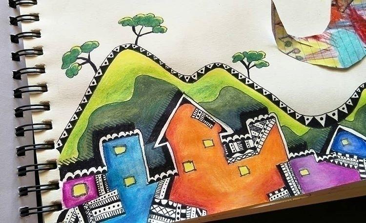 drawing, art, myart, firstpost - 3lizabeth4nne | ello