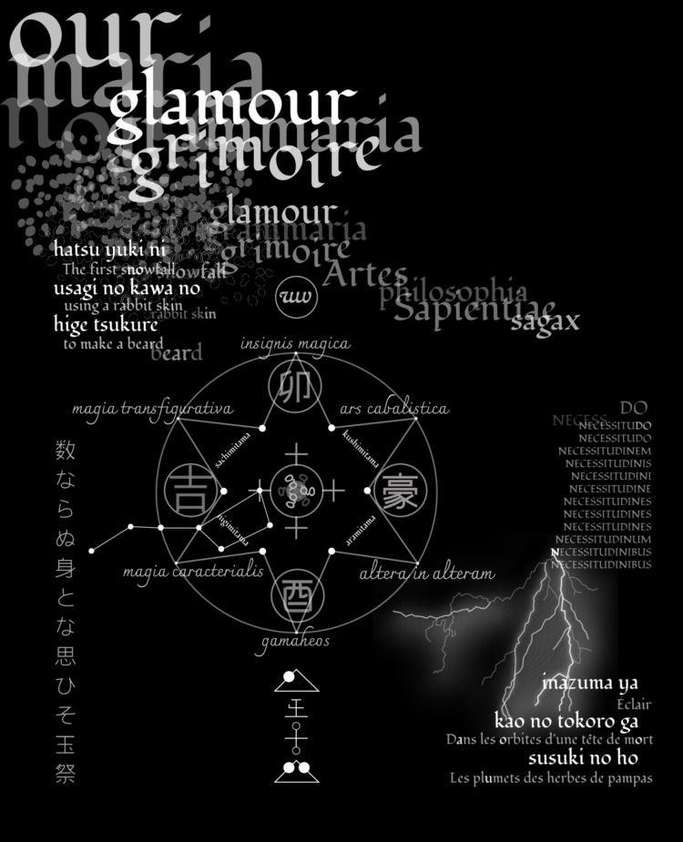 Glamour Grammaria Grimoire (Dua - wabiwoogi   ello