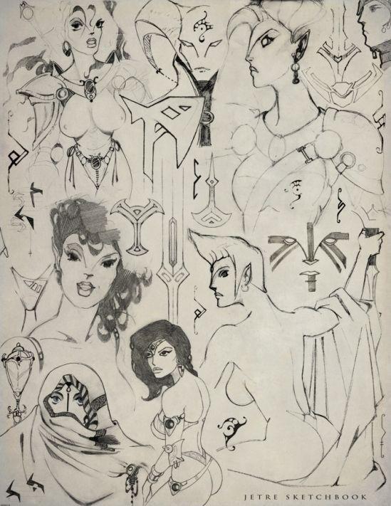 High School Doodles doodles 198 - elsuon   ello