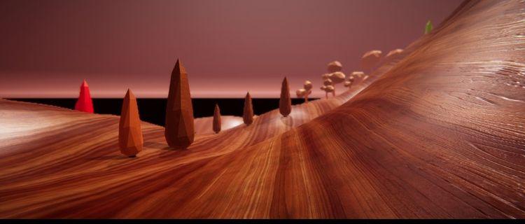 Albert Lascaux 'Land Art - gallerywhitte | ello
