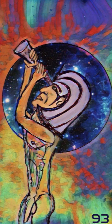ANCIENT ASTRONOMER MIRROR ART,  - novaexpress93 | ello