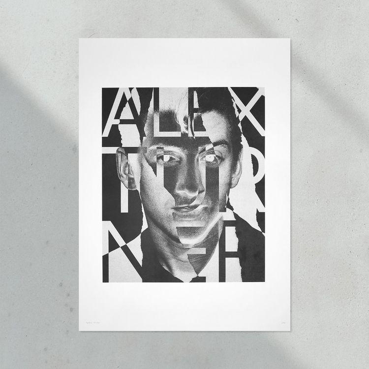 Limited edition risoprint Alex  - skrewstudio | ello