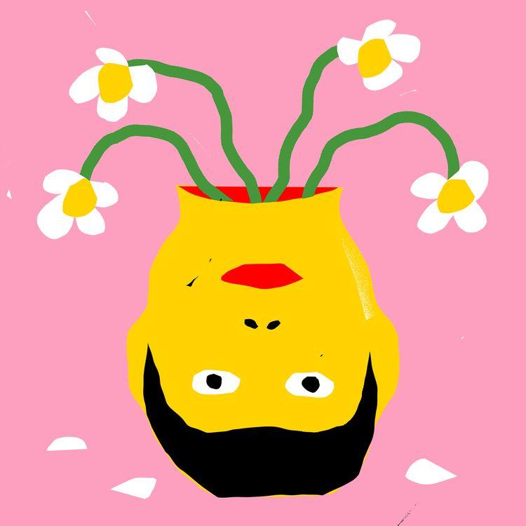 Pushing Daisies - illustration, grossillustration - grossillustration | ello