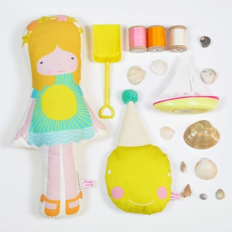 pinknounou, doll, summer, toys - pinknounou | ello