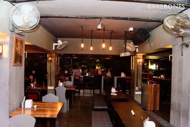Balcony Bar pub Bangalore fine  - barebones   ello