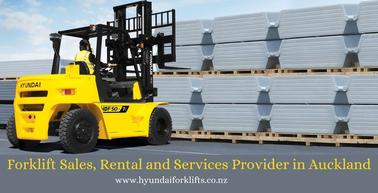 Forklift Sales, Rental Services - hyundaiforkliftsnz | ello