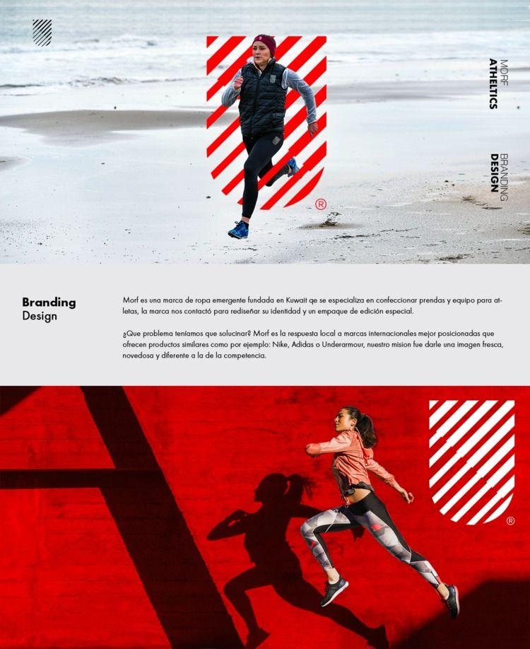Morf Athletics brand identity I - dblackhand   ello