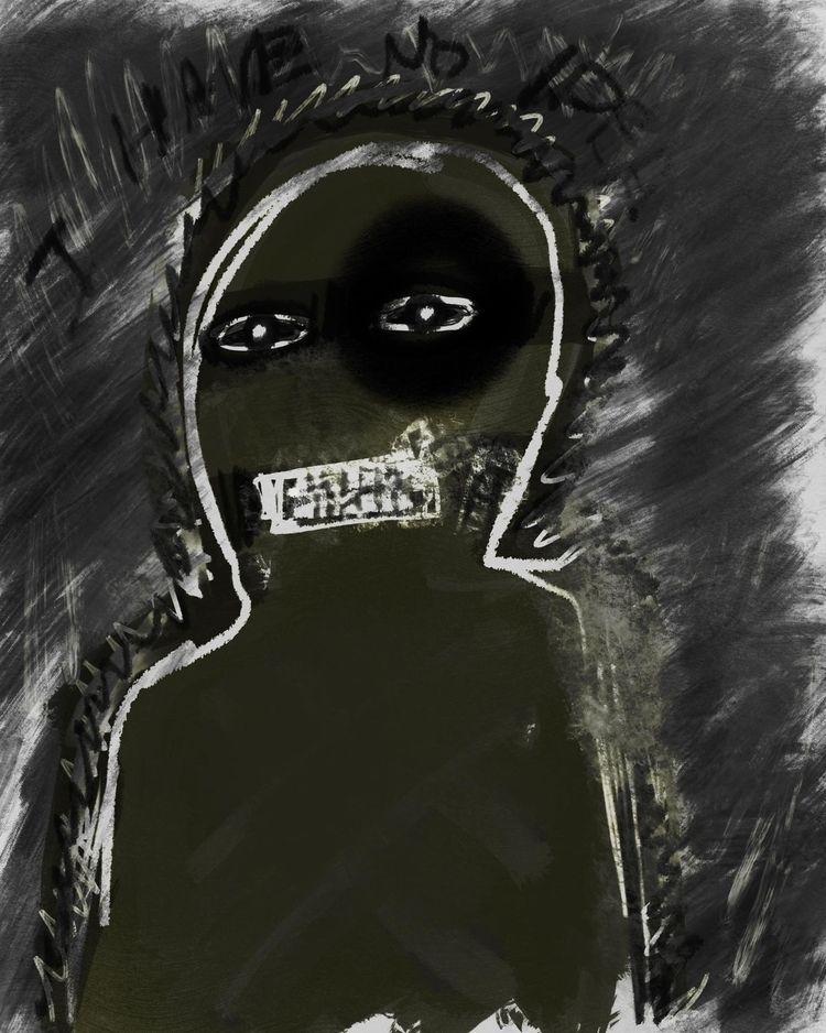 making Freeze Response artworks - traumahealingwithart | ello