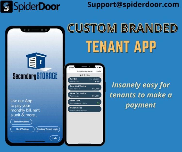 ADVANCED TENANT APP easier mana - spiderdoor | ello