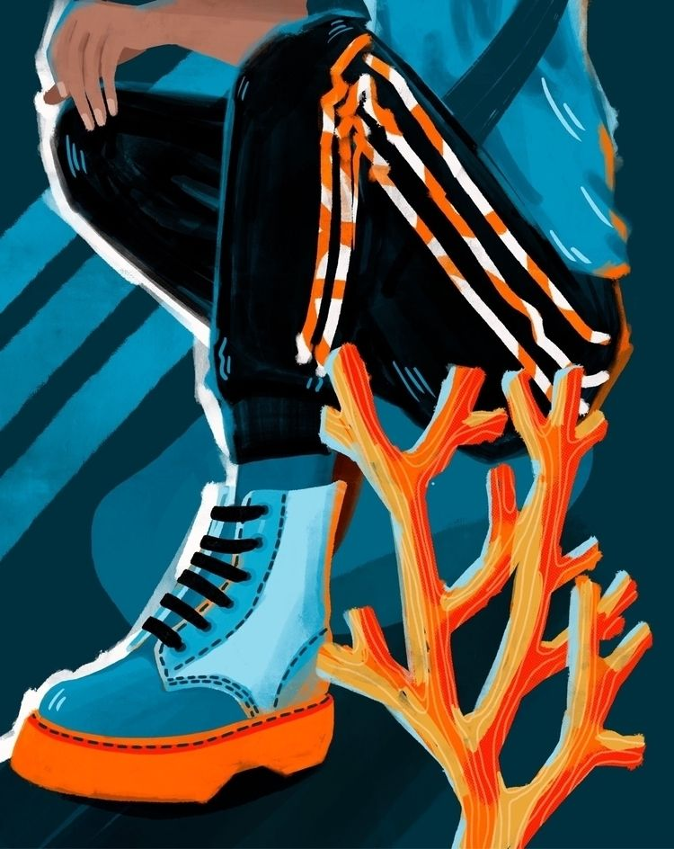 artwork imaginary client adidas - silvanafrinculescu   ello