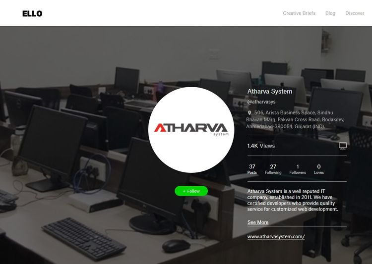 Odoo development company Learn  - atharvasys | ello