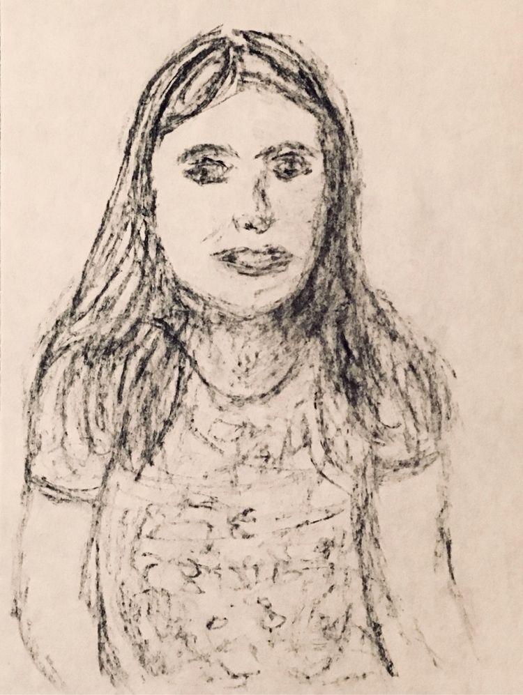 Evening sketch Charcoal - art - katemoriarty | ello
