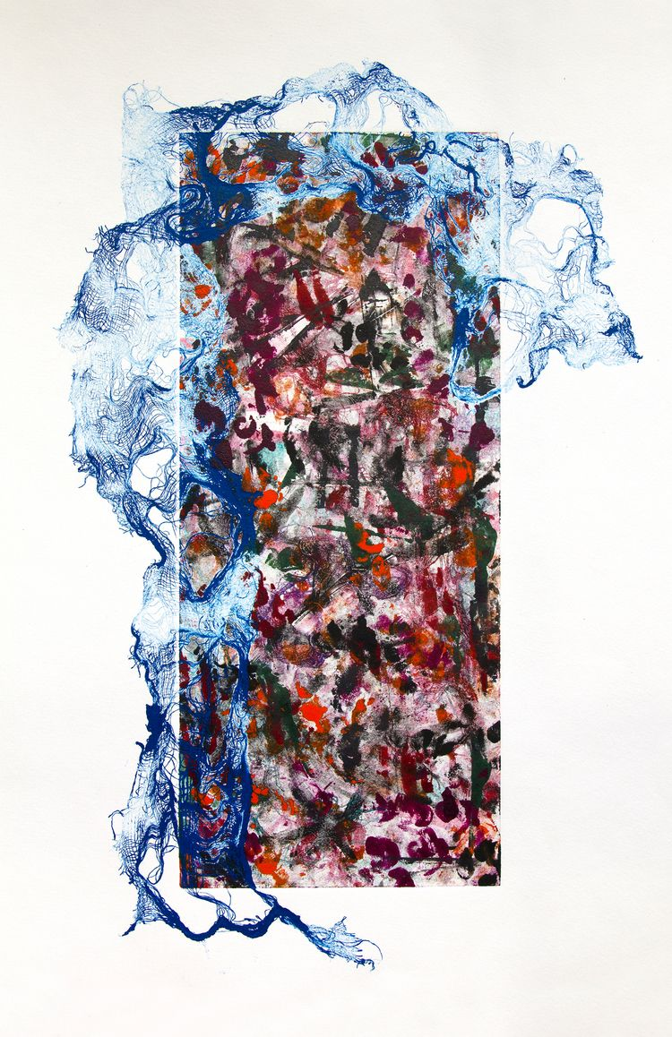 printmaking, abstract, abstractart - enzprints | ello