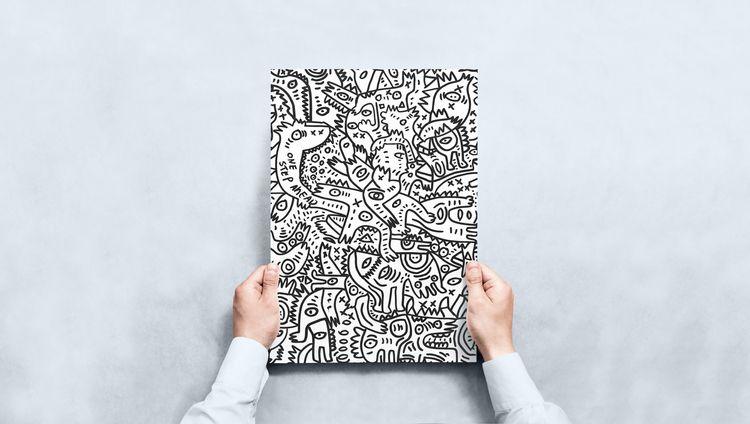 love sketch paint scanned artwo - signorino | ello