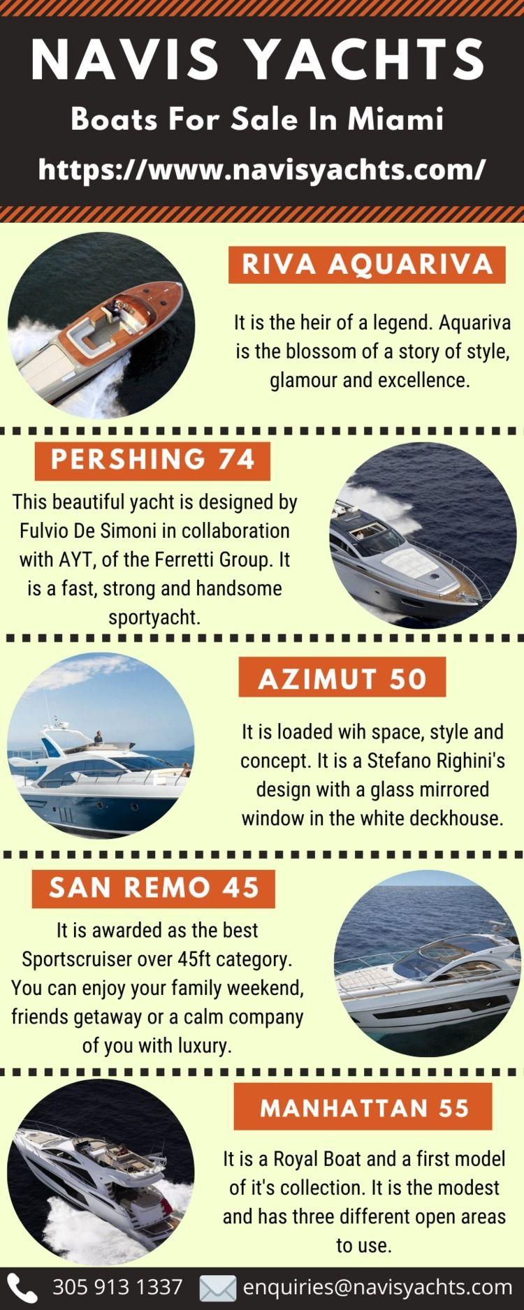 Boats Sale Services Miami - navisyachts   ello