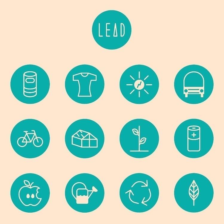 environmental awareness icons W - aarontmbauer | ello