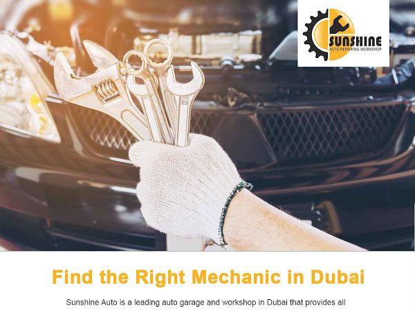 Local Mobile Mechanic Dubai 1.  - sunshineauto | ello