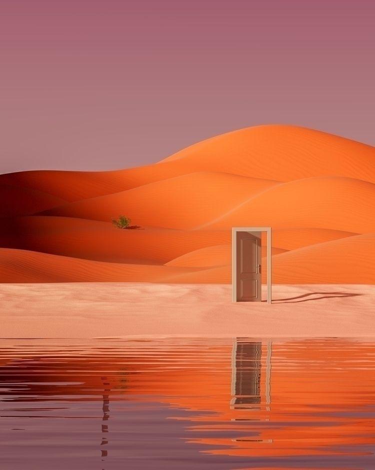 Escape Door :door:🟠 - 3d, cgi, illustration - danielmedina3d | ello