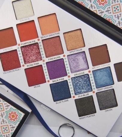 lavish eyeshadow palette 18 lux - gourmandegirls   ello