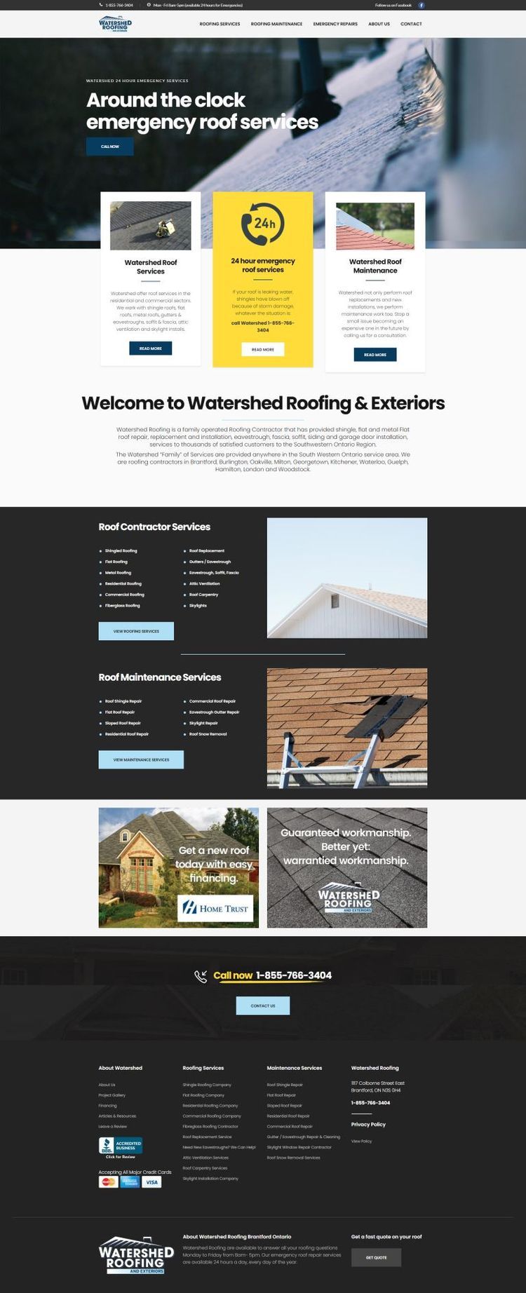 Watershed Roofing, provide roof - watershed2 | ello
