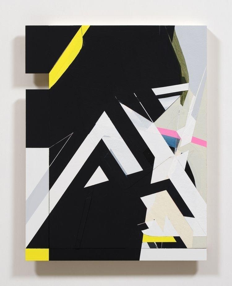 Untitled, 2020 Acrylic paper wo - kazuhirohigashi   ello
