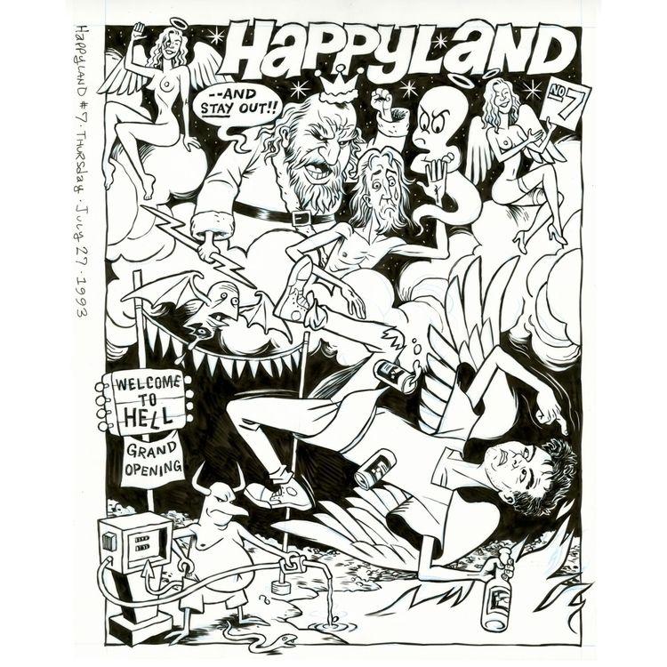 Cover art Happyland collected H - dannyhellman | ello