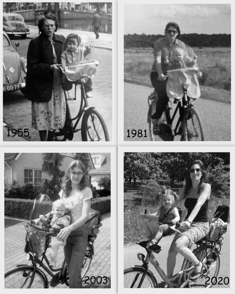 Collage: changed 65 years! cycl - ladymaja | ello