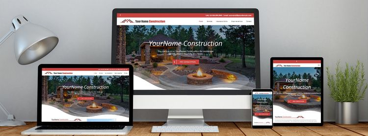 professional construction websi - contractorsdomain   ello