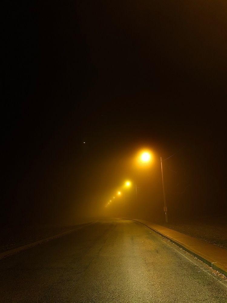 Foggy, foggy night - fog, street - csilverman | ello