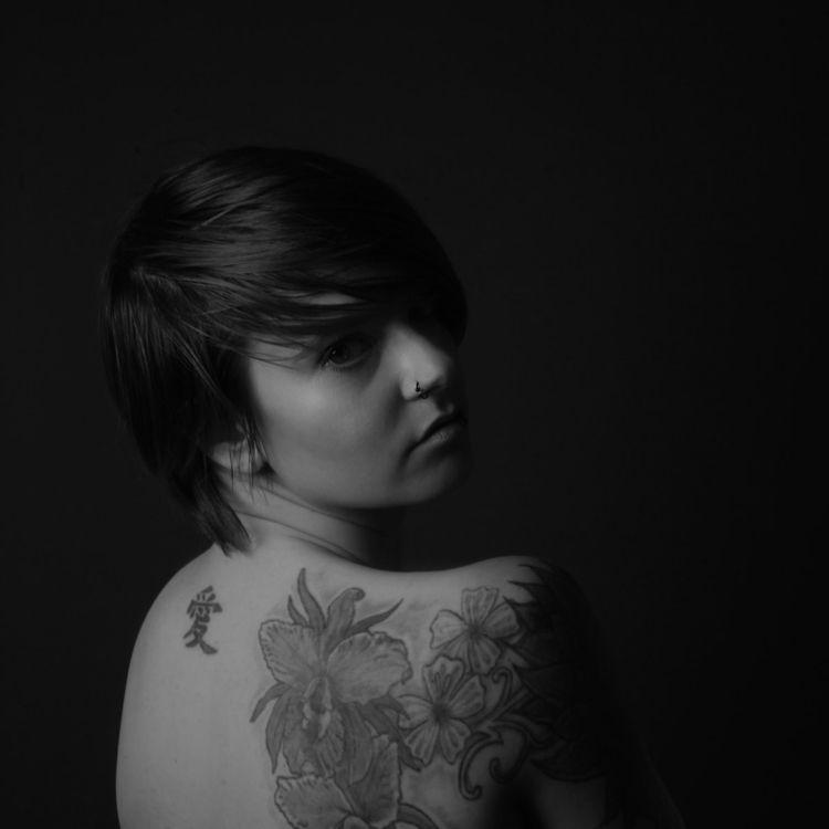 Black white Portrait - 2019 - tattoo - portrait_foto_kunst   ello