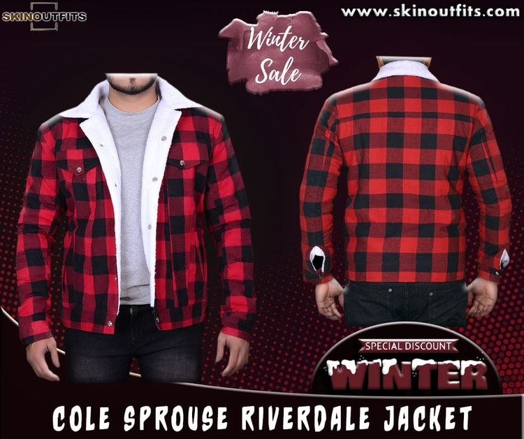 selling item Cole Sprouse River - skinoufits | ello