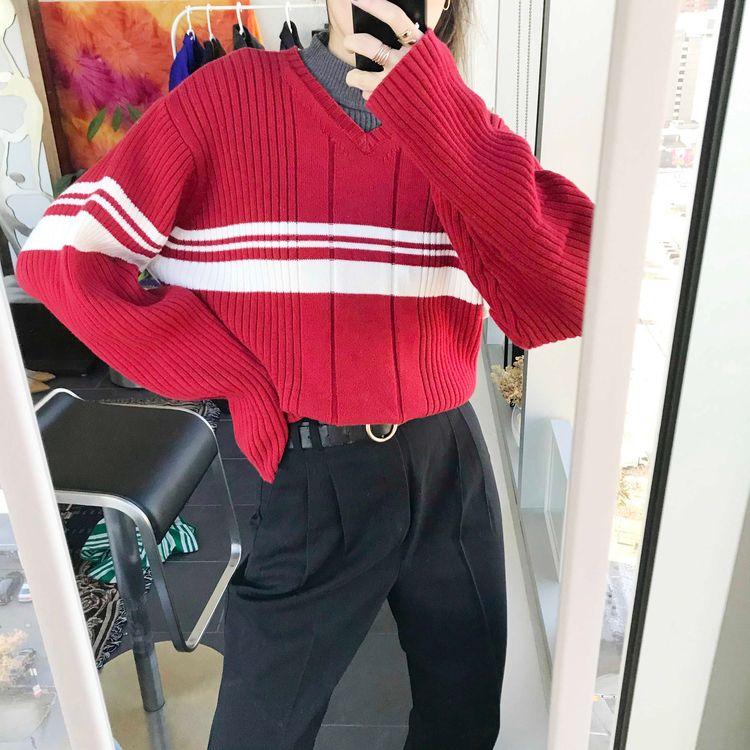 Tommy Hilfiger red sweater - wenyyc | ello