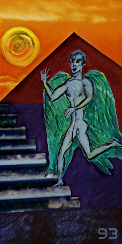 RUN, ANGEL, RUN! BIRDS PREY GIF - novaexpress93   ello