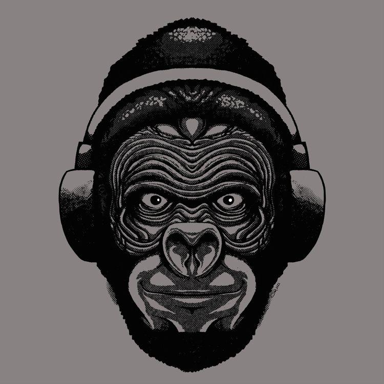 Intense Gorilla 2021 - notbadart | ello