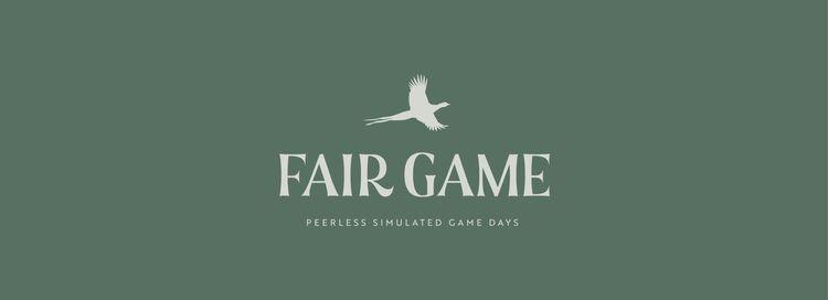 FAIR GAME - SIMULATED DAYS Logo - adamgreasley | ello