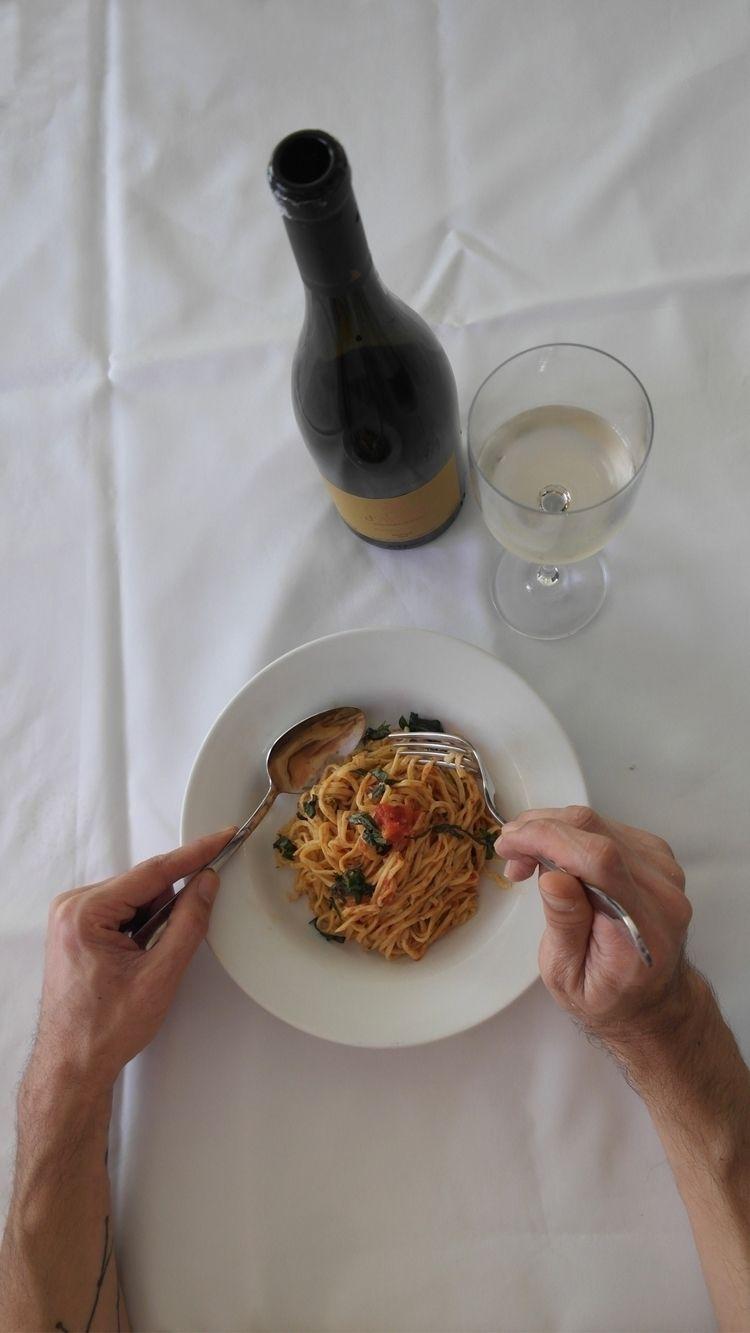 Homemade italian pasta! Spaghet - onurollstyle | ello