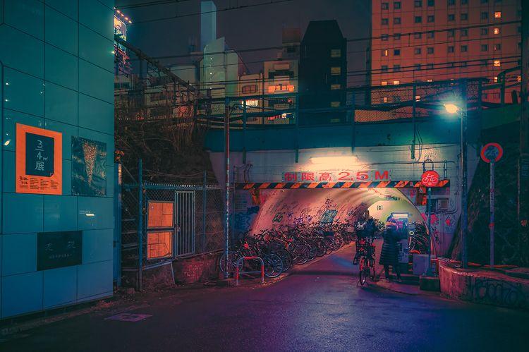 Tunnel, 2020, Tokyo Japan. phot - anthonypresley | ello