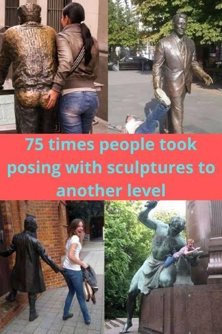 75 times people posing sculptur - sophia231 | ello