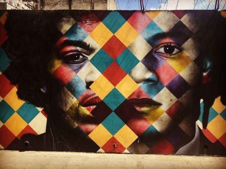 Pinheiros, São Paulo, Brasil  - graffiti, - casparmenke | ello